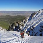 Cerro del Almirez por el Corredor de Ubeire