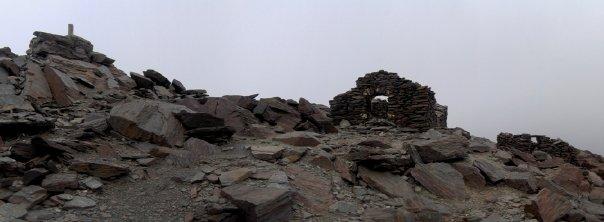 Ruinas en el Mulhacén