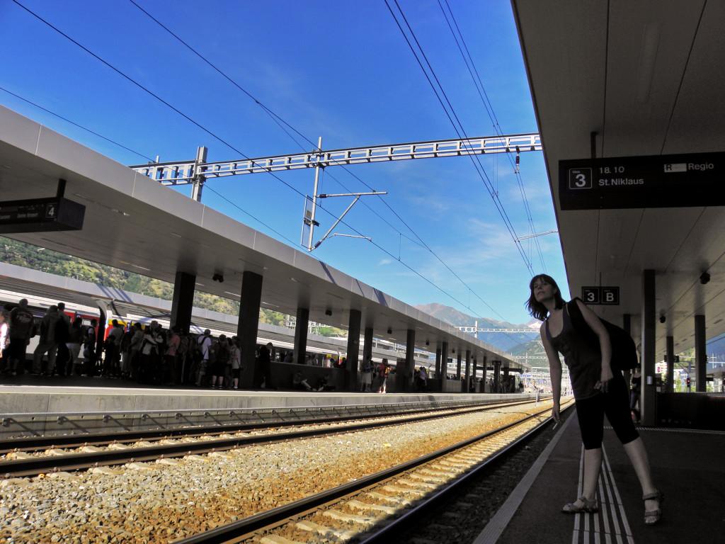 Estación de Visp