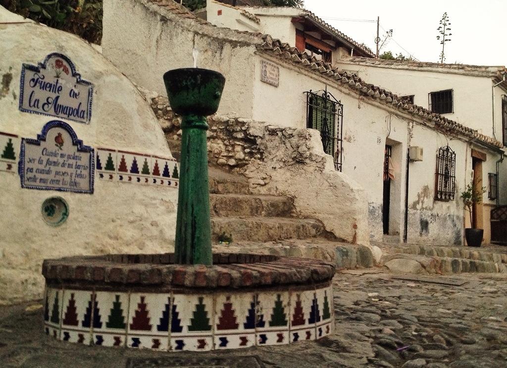 Fuente de la Amapola, Granada, Sacromonte