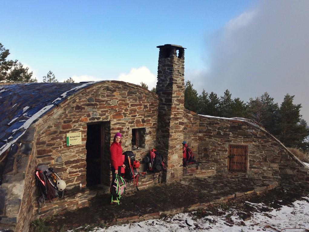 Refugio de la Piedra Negra, Sierra nevada