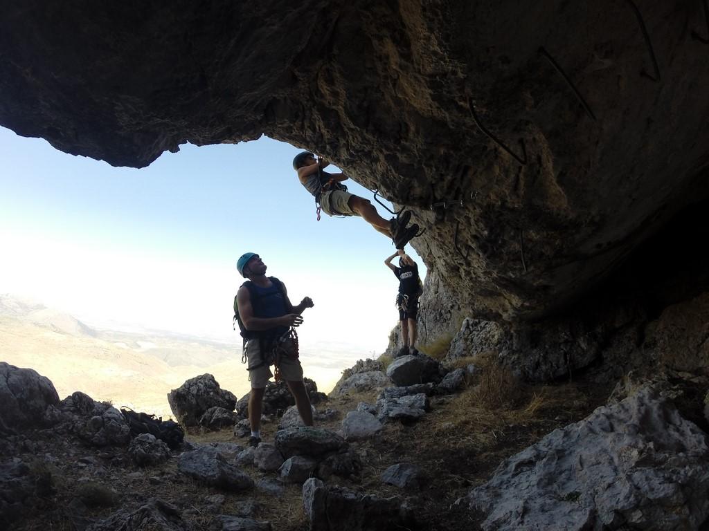 Ferrata de Loja – Cueva Horá (18)