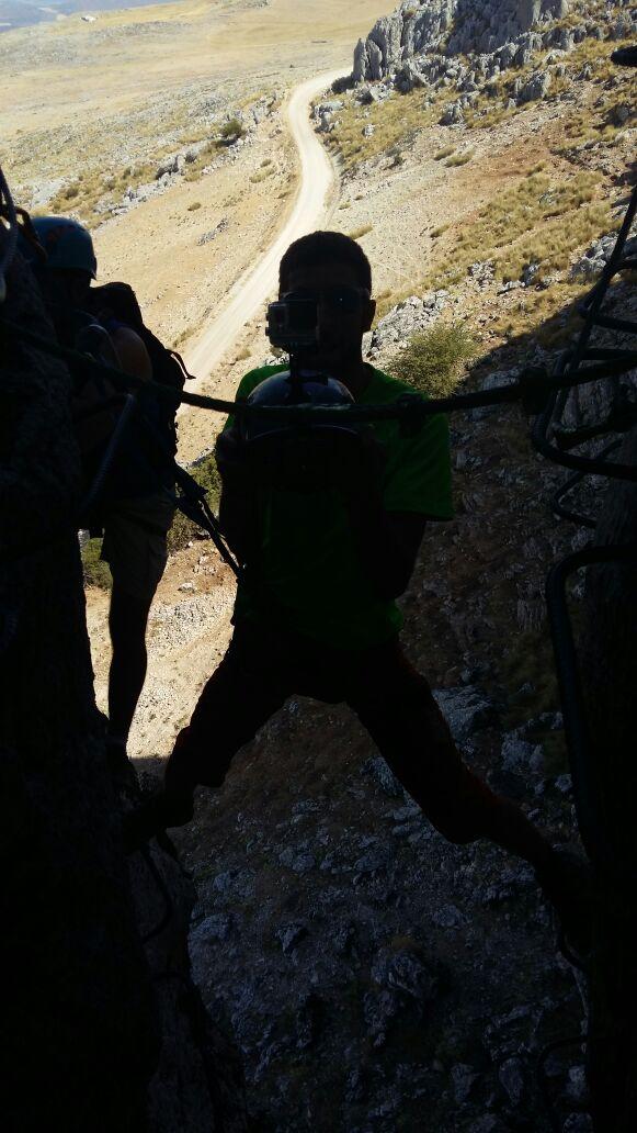 Ferrata de Loja – Cueva Horá (30)