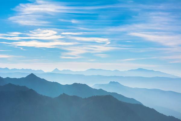 Océano de Montañas
